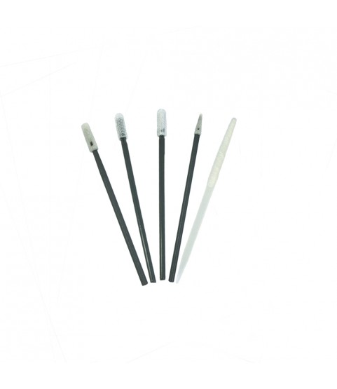 Watchmaker mix polyester cleaning swabs for watch cleaning 5pcs