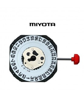 Miyota 2315 SC-D(3) 11 1/2 Quartz Movement with winding stem and battery