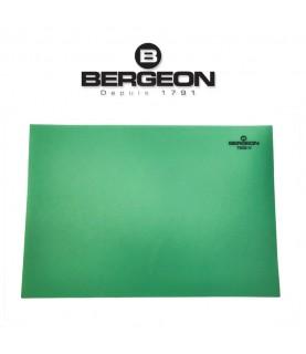 Bergeon 7808-V green mat watchmaker bench top, soft–anti-skid
