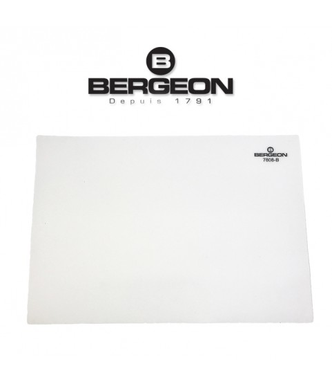 Bergeon 7808-B white mat watchmaker bench top, soft–anti-skid