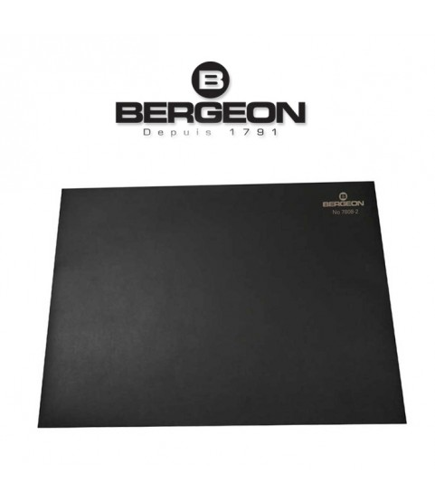 Bergeon 7808-N black mat watchmaker bench top, soft–anti-skid