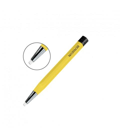 Bergeon 2834-C fiber glass scratch brush pen shape