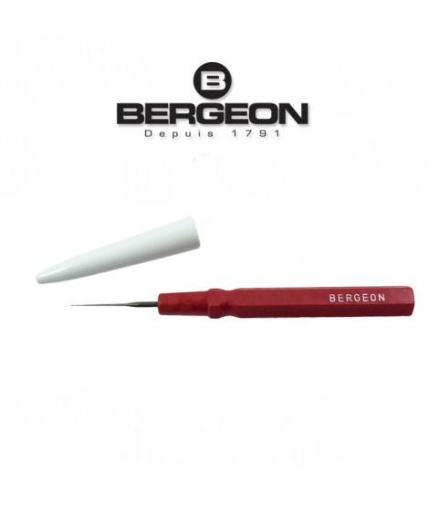 Bergeon 30102-AR small red oiler fine tip tool 0.15 mm