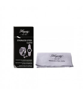 Hagerty Stainless Steel Cleaning Cloth for Watches, Jewelery 100 % cotton