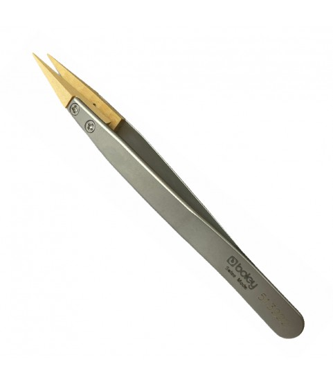 Boley antimagnetic tweezers with wooden tips 130 mm