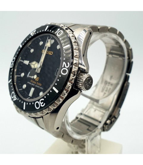 Seiko Diver SBGA031 Cal. 9R65 Spring Drive Power Reserve Titanium Watch