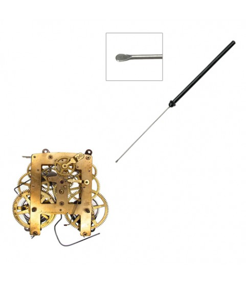 Watchmaker Precise Oiler with Plastic Handle for Clocks