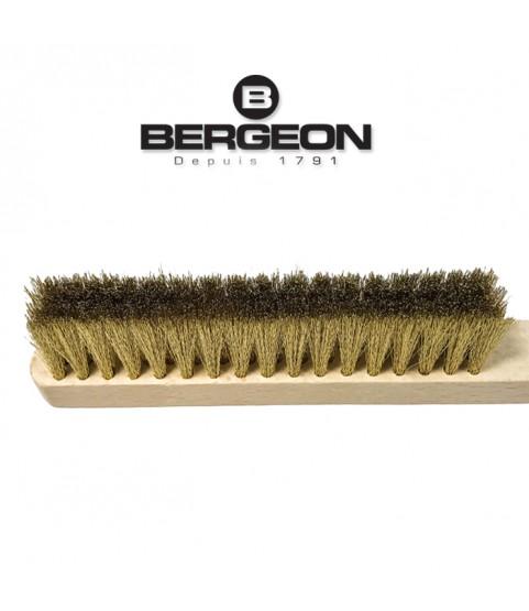 Bergeon 1131-12 hand wire scratch brush surly brass