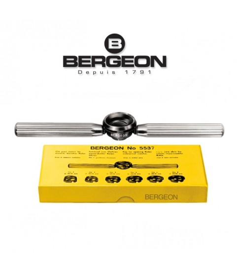 Bergeon 5537 waterproof & grooved watch case opener closing tool (Rolex, Tudor)