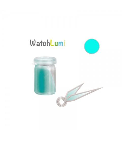 Luminous paste Siluma blue-green for watches hands 2gr