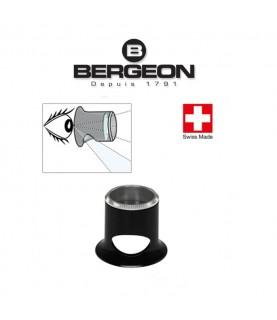 Bergeon 2611-TN 6.7x watchmaker eyeglasses loupe with hole 1.5