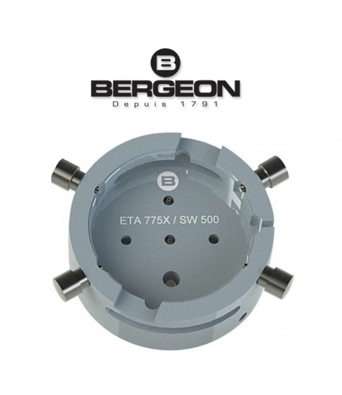 Bergeon 7100-ETA-775X watch movement holder ETA 7750 - 7758 / SW500 13 1/4 Tool