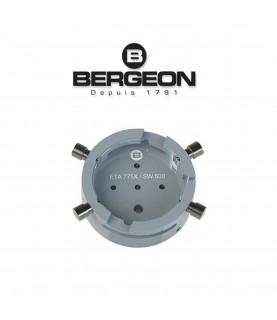 Bergeon 7100-ETA-775X watch movement holder ETA 7750 - 7758 / SW500 13 1/4 Tool