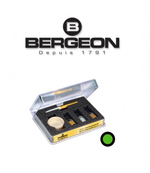 Bergeon 5680-V-07 green luminous paste for watch hands