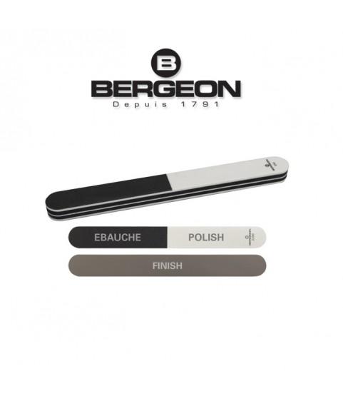 Bergeon 2290 flexible polishing buff stick 3 grit for watches