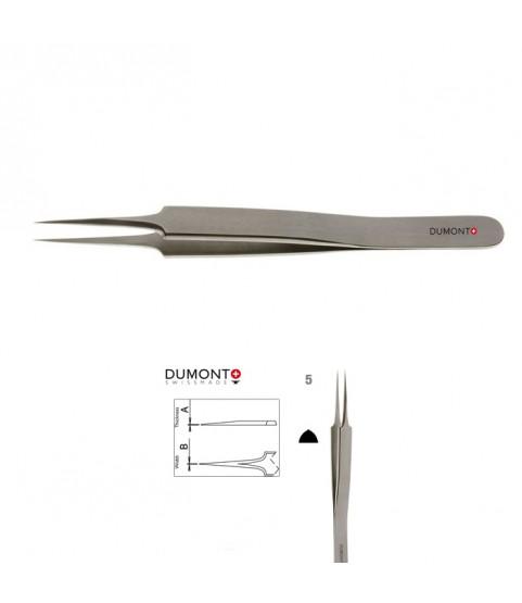 Dumont Dumoxel #5 Antimagnetic Watchmakers Tweezers 110 mm