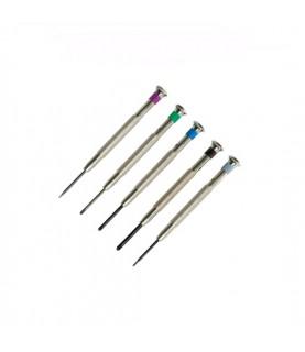 Boley cross slot set of 5 screwdrivers