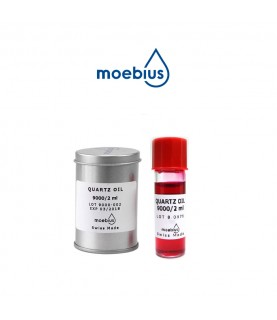 Moebius 9000 synthetic oil for quartz watches  2 ml