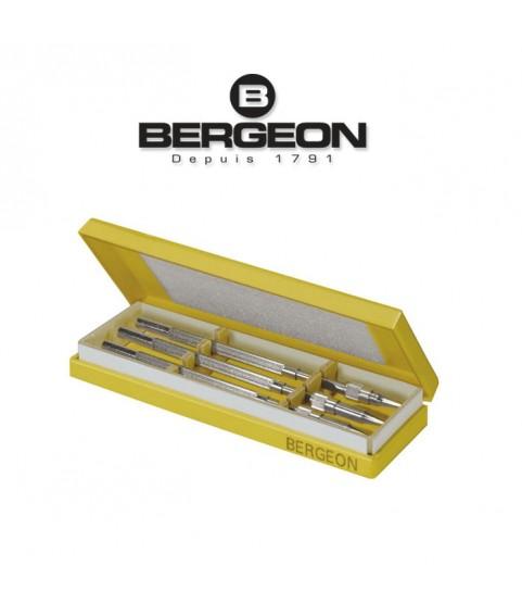 Bergeon 2566 assortment of 3 holders screw contents