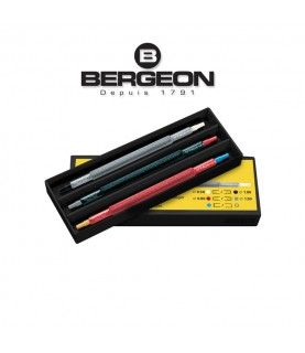 Bergeon 7404 Assortment of 3 Watch Hands Setting Tool