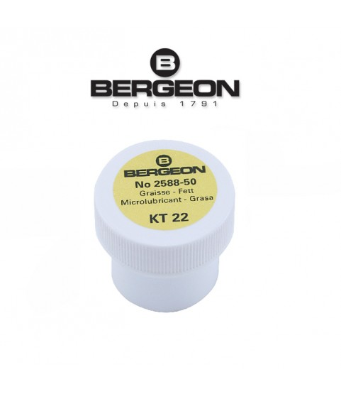 Bergeon 2588-50 silicon lubricant waterproof watch sealing grease