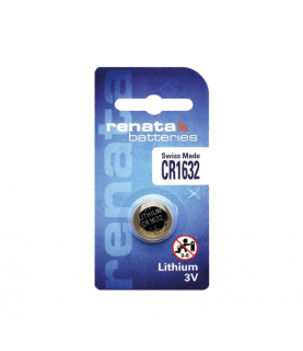 Renata CR1632 lithium battery 3V 68mAh