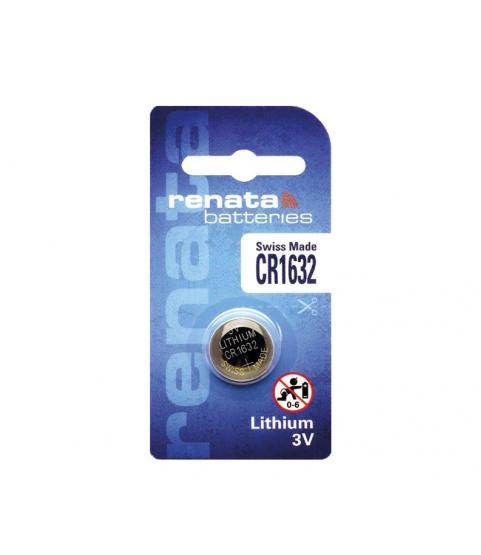 Renata CR1632 lithium battery 3V 68mAh