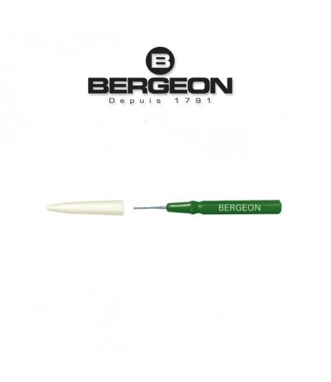 Bergeon 30102-CV Hand Green Oiler Fine