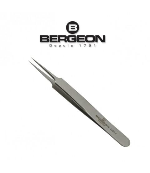 Bergeon 7024-5 stainless steel tweezer antimagnetic 120mm