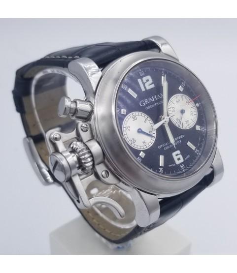 Graham Chronofighter 2CFAS.B01A.L30B Black Dial Men's Watch