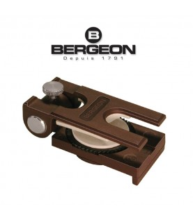 Bergeon 6670 hand vice for screwing and unscrewing bracelets