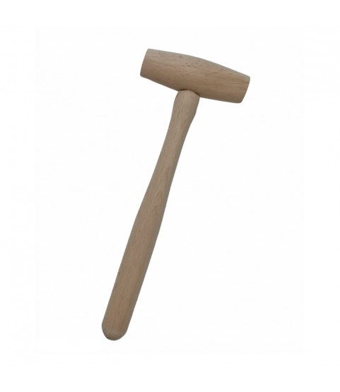 Boxwood hammer for watchmakers length 75mm