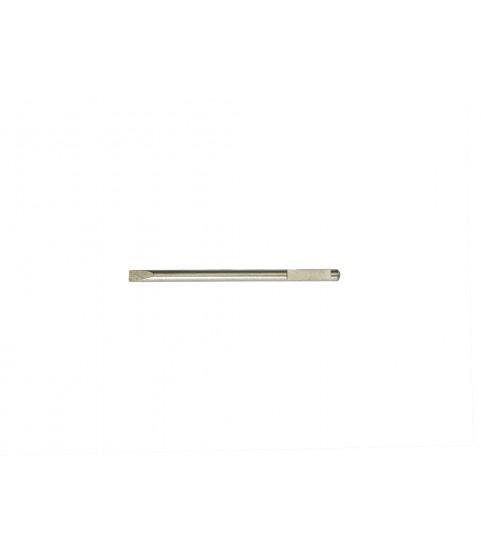 Screwdriver stainless steel spare blade V-form 1.00mm
