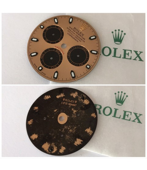 Rolex Daytona 116505, 116515 rose dial chromalight
