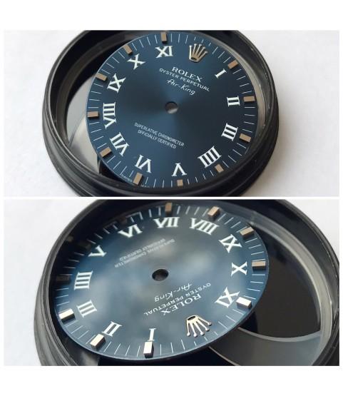 Rolex Air-king roman blue dial 114200, 14200