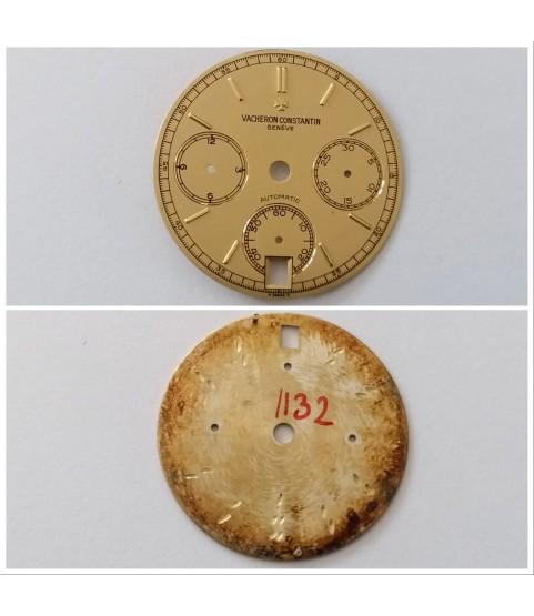 New Vacheron Constantin chronograph yellow dial 49001