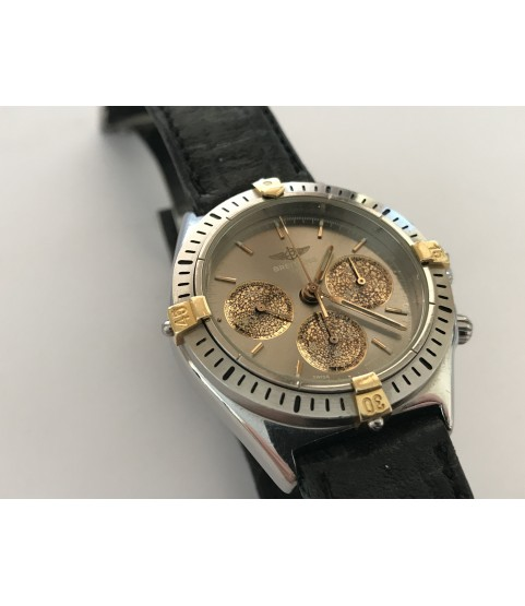 Breitling B11045 Chronograph men's watch steel and gold