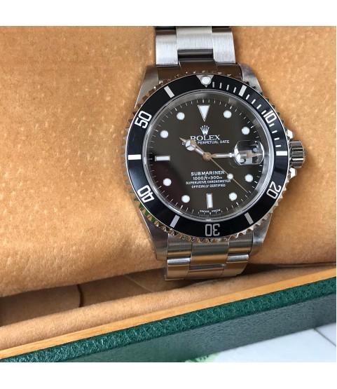 Rolex Submariner 16610 men's watch Z serial 2001 full set