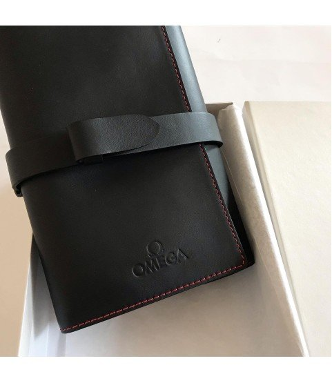 New Omega leather travel case for watches