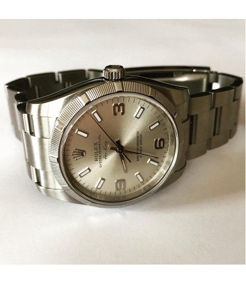 Rolex Oyster Perpetual Air King 114210 unisex automatic watch 34mm