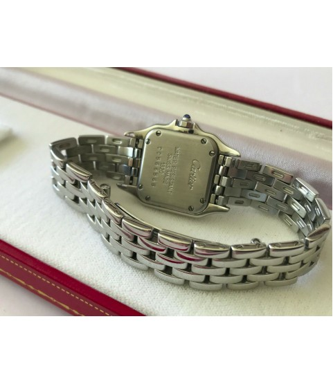Cartier Panthere 1320 quartz steel ladies watch 22mm