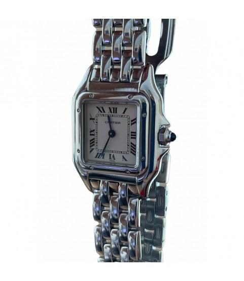 Cartier Panthere 1320 quartz steel ladies watch 22mm