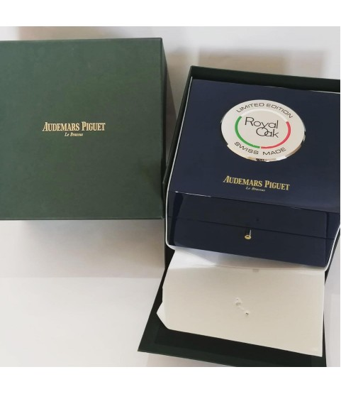 Audemars Piguet Tribute Italy limited edition blue watch box