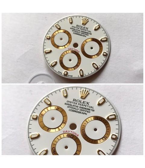 New Rolex Daytona chromalight watch white dial 116523, 116528