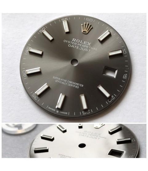 New Rolex Datejust Rhodium watch dial 126300, 126334