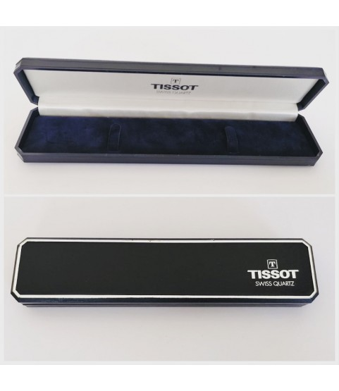 Tissot Quartz retro watch box (blue)