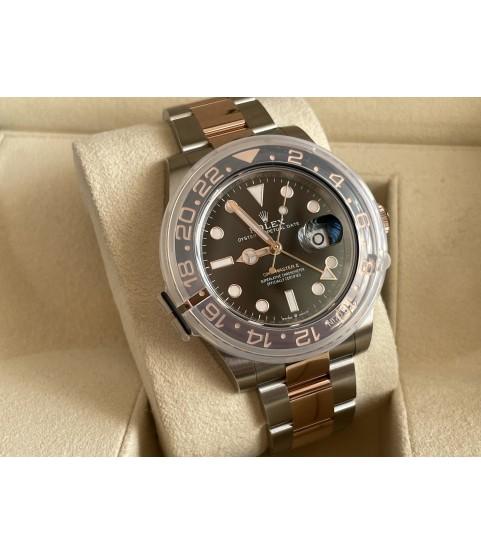 New Rolex GMT-Master II 126711CHNR 40mm Root Beer Everose 2021 men's watch