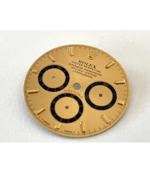Rolex Daytona 16523, 16528 Singer champagne dial Zenith