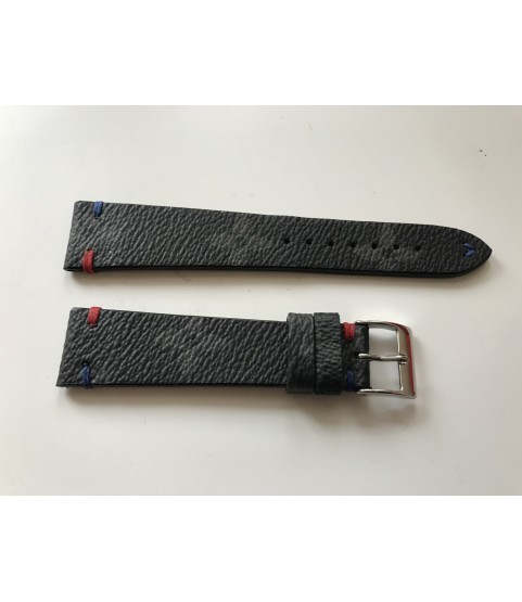 New Louis Vuitton canvas leather strap 20/16 mm