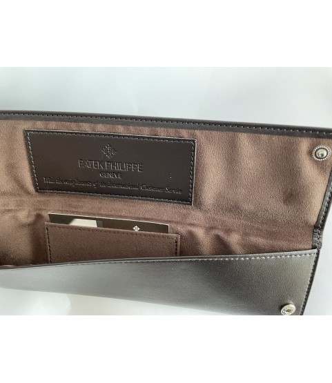 New Patek Philippe leather service travel case pouch